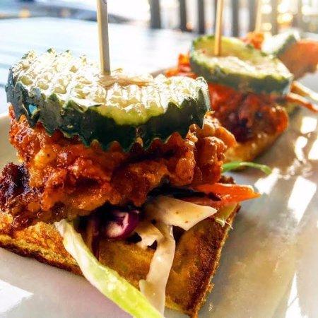 "Solstice Kitchen: ""Nashville Hot"" Quail & Waffles"