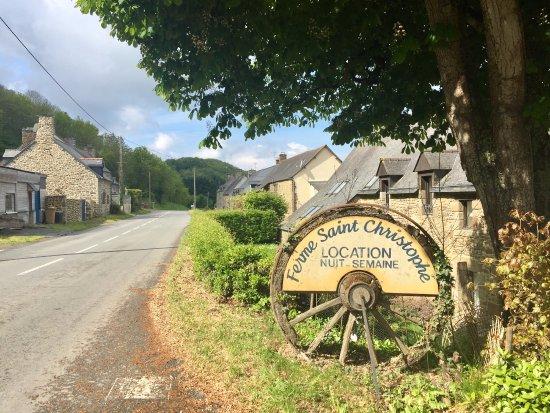 Saint Marcan, France: Localização em área rural