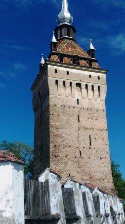 Saschiz, Romania: Torre della Chiesa
