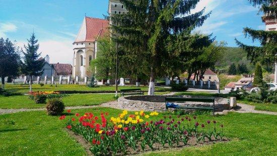 Saschiz, Romania: spazio antistante