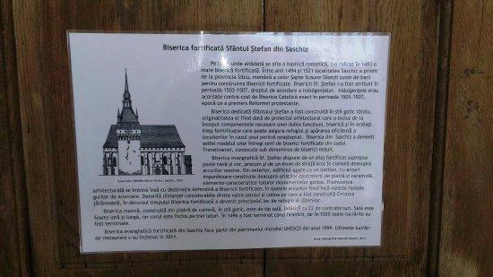 Saschiz, Romania: storia