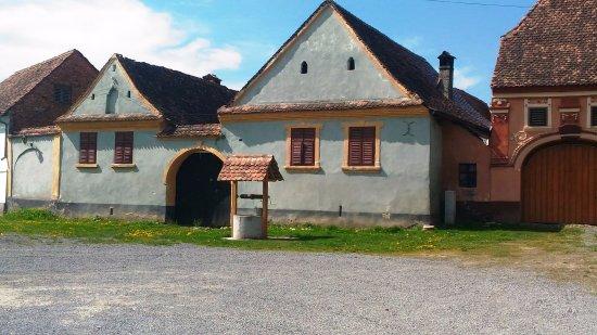 Saschiz, Romania: pozzo