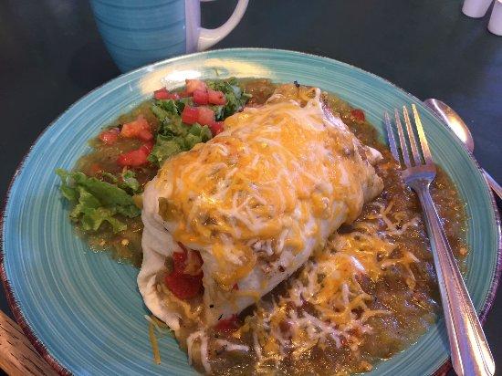 Edgewood, NM: Burrito Smothered 2