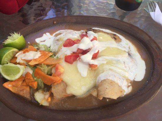 Restaurant El Mexicano: Enchiladas suiza