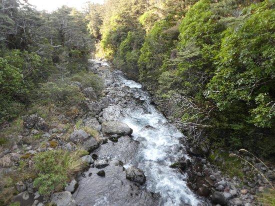 Вакапапа-Виллидж, Новая Зеландия: río