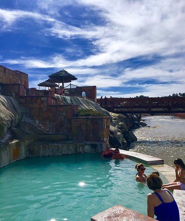 Wyndham Pagosa: Hot springs in town