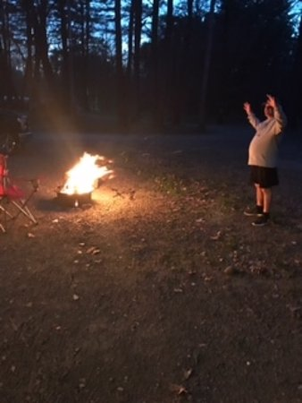 Accord, NY: Me commanding the fire