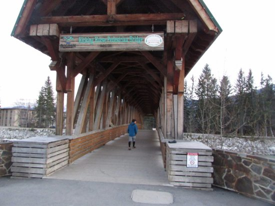 โกลเดน, แคนาดา: Kicking Horse Bridge