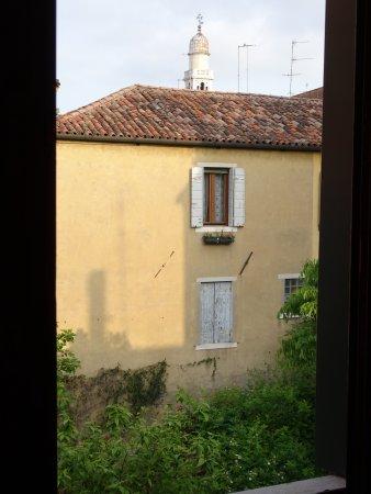 Hotel Falier: La vista dalla camera.