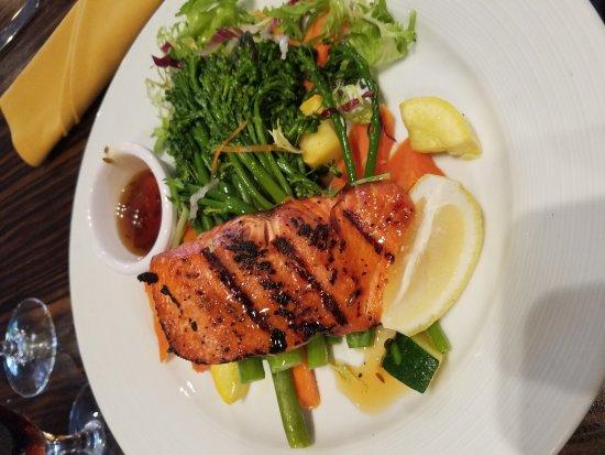JUNO: Lavender honey salmon!