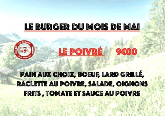 Douvaine, ฝรั่งเศส: le burger du mois