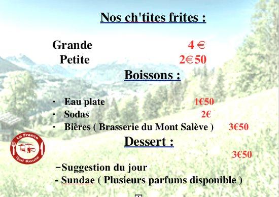 Douvaine, ฝรั่งเศส: Nos desserts