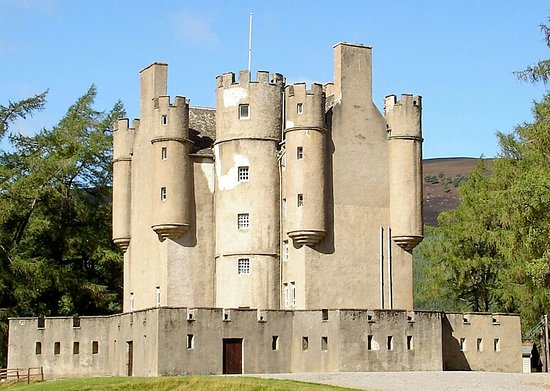 Badenoch and Strathspey, UK: Cairngorms Nat Park 6 (Braemar Castle)