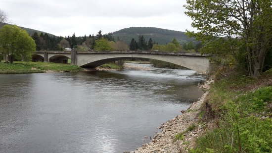 Badenoch and Strathspey, UK: Cairngorms Nat Park 7 (River Dee, Aboyne)
