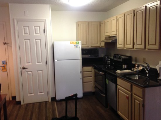 Hyatt House Herndon: Frig Has Ice Maker, Microwave, Closet Has Iron U0026  Ironing