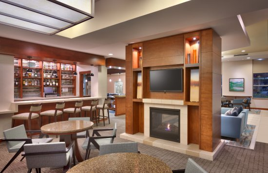 Lobby Fireplace Picture Of Hyatt House Salt Lake City Sandy Sandy Tripadvisor