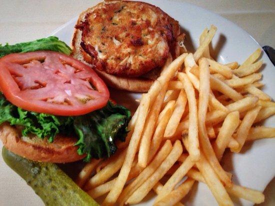 The Anvil Restaurant: Crab Cake Sandwich