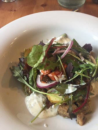 Mold, UK: Sticky Lamb Salad