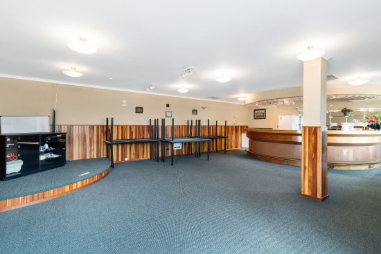 Prince Motor Lodge: Conference Room with Dias and seating for 24