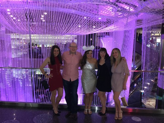 Bachelorette party at chandelier bar picture of the chandelier the chandelier bachelorette party at chandelier bar aloadofball Images
