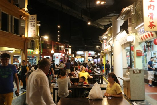 Lots Of Halal Food Malaysian Food Street Sentosa Island Traveller Reviews Tripadvisor