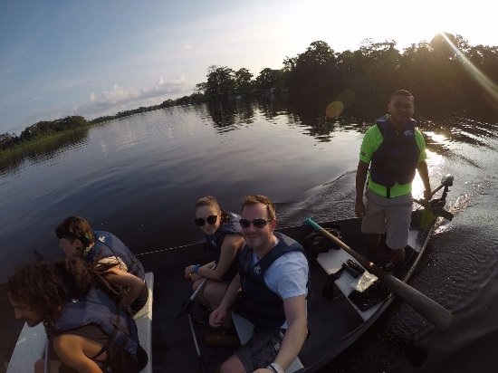 Tortuguero, Kostarika: Amazing view & peaceful  feeling