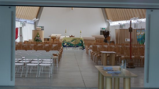 Cardboard Cathedral: Cathédrale