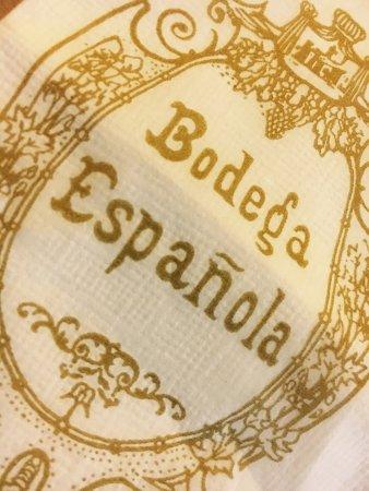 Bodega Espanola : ...con mucho gusto 🌻