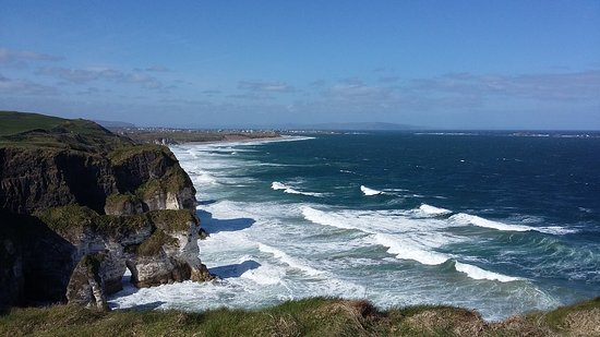 Portrush, UK: The White Rocks