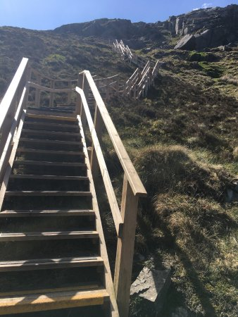 County Fermanagh, UK: Steps to Heaven onCuilcagh Mountain