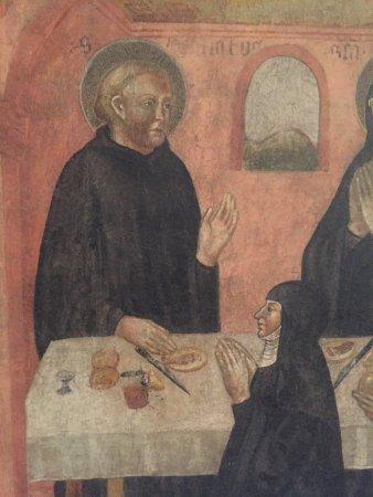 Camera di San Paolo: Affreschi di Jacopo Loschi