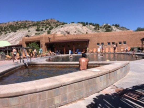 Ojo Caliente, New Mexiko: Main pool & arsenic pool