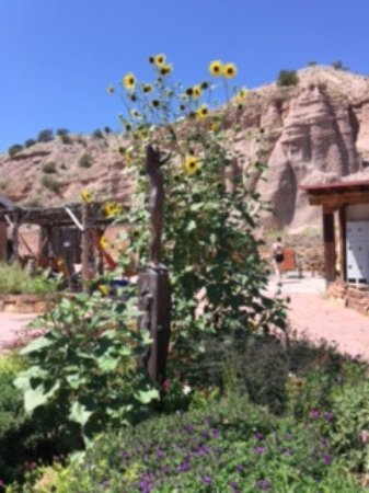 Ojo Caliente, New Mexiko: Path to other mineral water pools