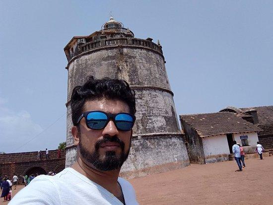 Sinquerim, Índia: Old Light House