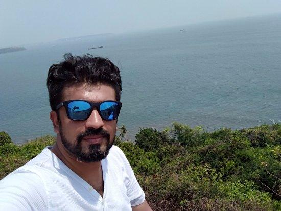 Sinquerim, Índia: View of the sea