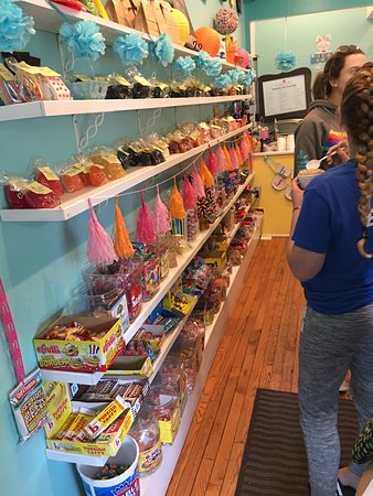 How Sweet Is This Itsy Bitsy Candy Shoppe