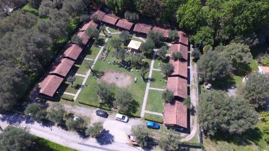 Villammare, Italy: Area relax a 50 mi dal mare vista dall'alto