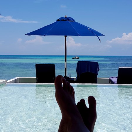 Chura Samui: View from the pool