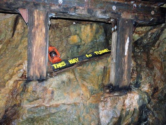 Dahlonega, GA: The shaft.