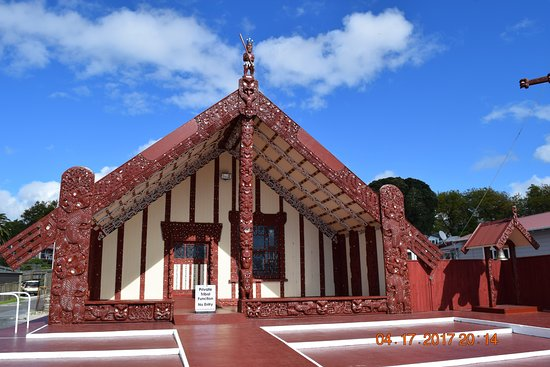 Maori Meeting House: Another Maori Meeting House Near Where We Had Lunch