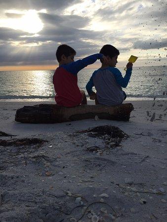 Boca Grande, Φλόριντα: Enjoying the sunset