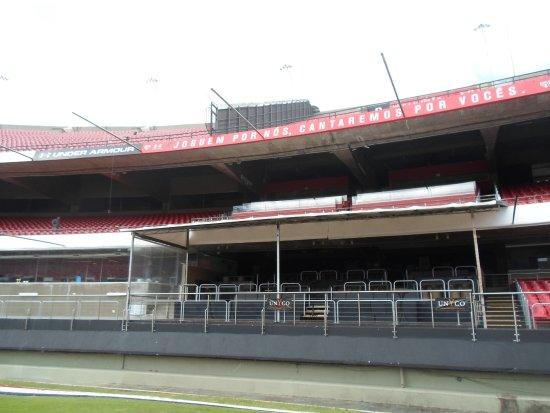 Morumbi Stadium: Pub/Bar onde são gravados programas esportivos