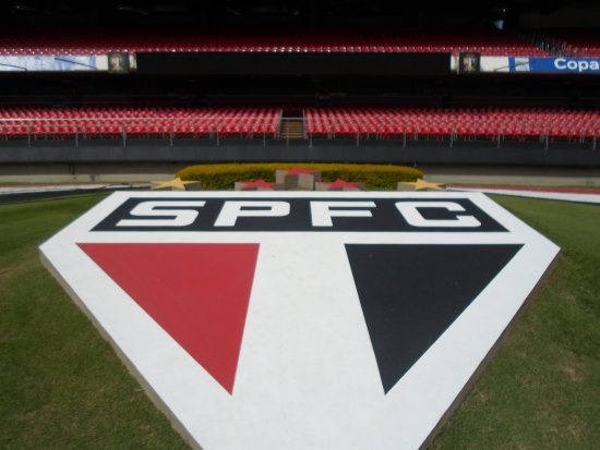Morumbi Stadium: Lindo Símbolo em Jardim bem cuidado
