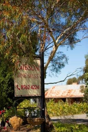 Cellar Door entrance Gibson Wines Barossa Valley