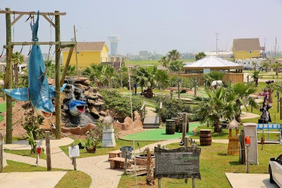 Jamaica Beach Rv Park Miniature Golf Course Galveston Island