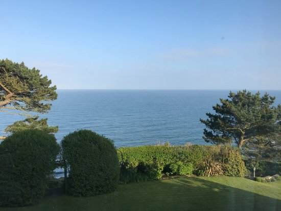 Trewithian, UK: View from our room