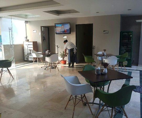 Buen hotel para una escala larga en el aeropuerto de la ciudad de México