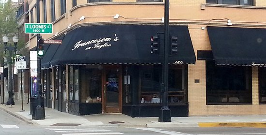 Francesca's On Taylor: Francesca's at the corner of Taylor St. and Loomis St.