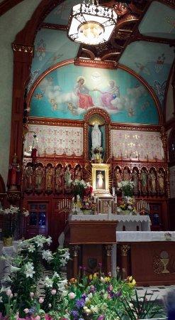 National Shrine of the Divine Mercy : Inside the church