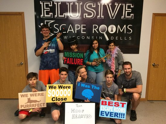 ‪Elusive Escape Rooms‬